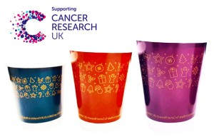 XMAS Pattern Double Wall Christmas Cups - Cancer Research Support